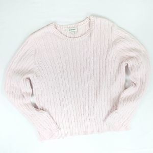 St. John's Bay Cable Knit Crew Neck Sweater XL